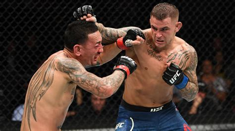 ufc  results highlights dustin poirier batters max