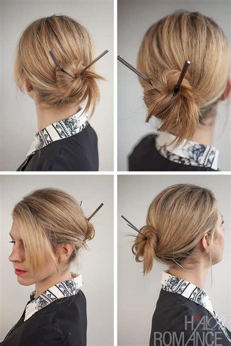 30 buns in 30 days day 17 chopstick bun hair romance