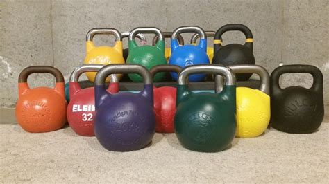 kettlebell kettlebells kettle gym complete bell russian compared