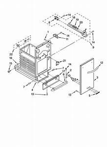 Kitchenaid Model Kucs03ftss0 Compactors Genuine Parts