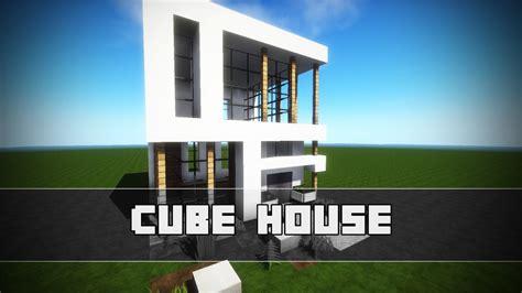 minecraft modern cube house tutorial wuerfelhaus      youtube