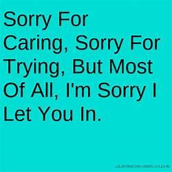 Im Sorry I Care For You Mungfali