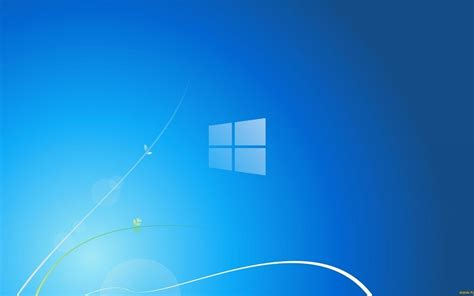 logo windows bleu fond decran publicitaire de la marque