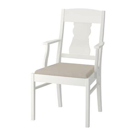 Ingatorp Chaise Avec Accoudoirs Ikea