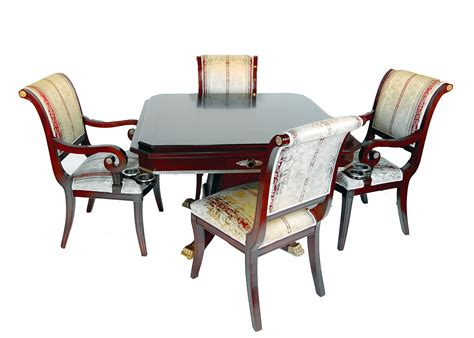 rosewood table and four chairs set ebay