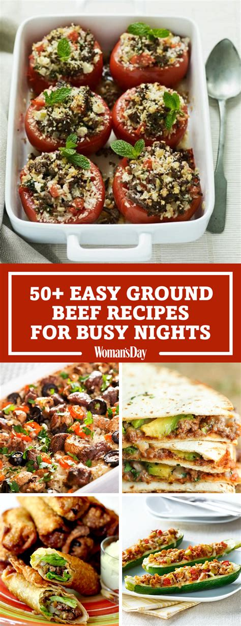 55 easy ground beef recipes healthy recipes with ground