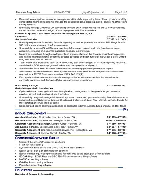 resume of mis executive 51 images sle resume of mis