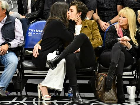 Shawn Mendes Camila Cabello Spotted Sharing Intimate