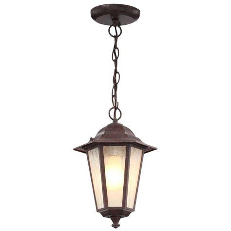 home depot outdoor hanging lights glomar 1 light outdoor old bronze incandescent pendant