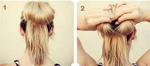 Coiffure Simple Femme : coiffure femme facile faire ~ Melissatoandfro.com Idées de Décoration