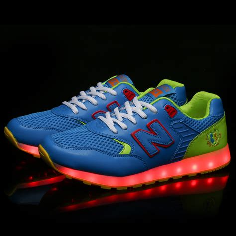 mens light up shoes 7 colors light up sneaker luminous usb charge colorful led