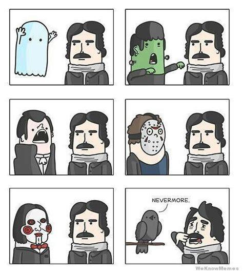 Edgar Allen Poe Meme - pinterest the world s catalog of ideas