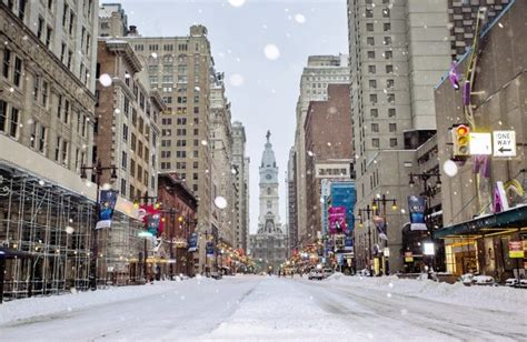 city declares snow emergency  monday march