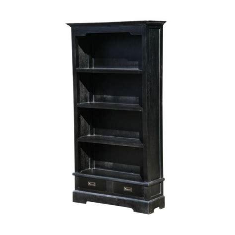 Antique Black Bookcase by Classic Black Antique Bookcase Black Painted