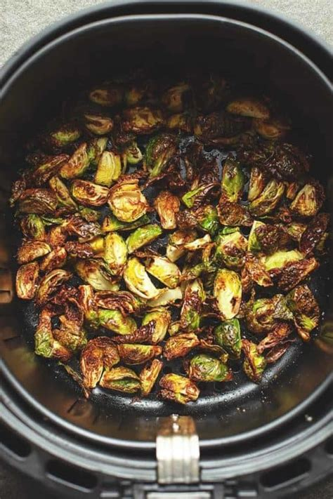 fryer air sprouts recipes brussels beginners easy low carb brussel cook crispy chicken frozen oven nuggets recipe dish side inside