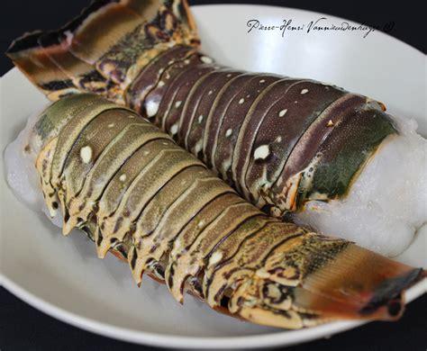 cuisine langouste plancha plancha de queues de langouste sur la route des indes
