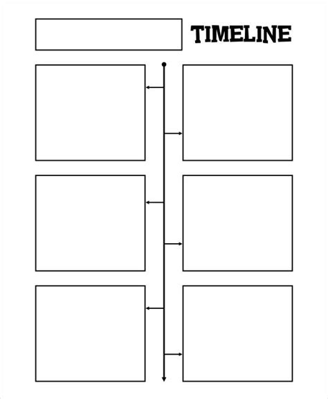 vertical timeline templates   samples examples