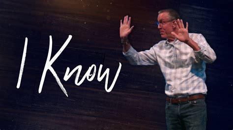 I Know - YouTube