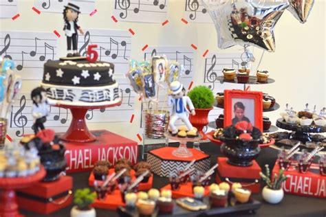 michael birthday decorations kara s ideas michael jackson birthday kara s