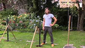 Anker Selber Bauen : aufbau eines zaunes aus doppelstabmatten youtube ~ Orissabook.com Haus und Dekorationen