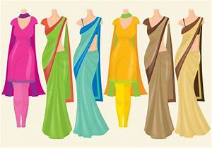 Indian Dresses Download Free Vector Art, Stock Graphics & Images