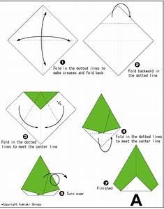 Origami Alphabet A