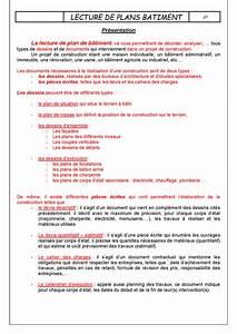 Cahier Des Charges Plan : lecture batiment page 01 ~ Premium-room.com Idées de Décoration