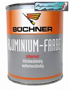 Farbe Für Aluminium : b chner aluminium farbe silberhell ~ Watch28wear.com Haus und Dekorationen