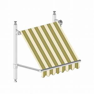 bras store banne fonctionnement d 39 un store banne With canapé convertible couchage quotidien avec tapis toile de jute
