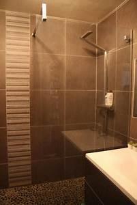 faience beige salle de bain - faience salle de bain chocolat beige evtod