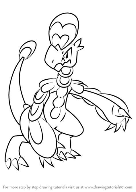 learn   draw hakamo   pokemon sun  moon