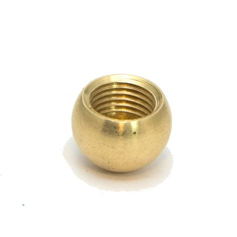 solid brass ball finial approx 9 16 diameter m10 x 1mm