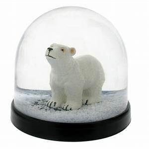 Boule à Neige : boule neige ours polaire klevering perlin paon paon ~ Teatrodelosmanantiales.com Idées de Décoration