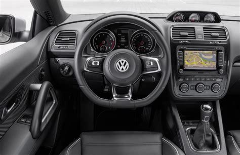 volkswagen scirocco 2016 interior new volkswagen scirocco unveiled