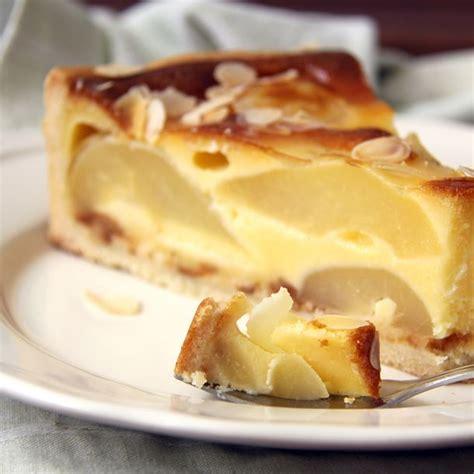 dessert avec poires fraiches recette flan aux poires au sirop facile rapide