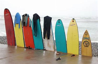 Surfboards Row Surfboard Surfing Hanging Sport Colorful