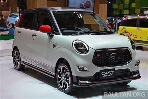 Daihatsu Car :  Daihatsu Cast Sport, Racy Kei-car Debuts