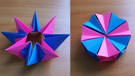 Diy How Fold Easy Origami Magic Circle Fireworks