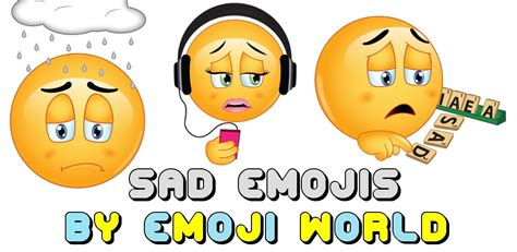 Sad Emojis By Emoji World App Ranking And Store Data