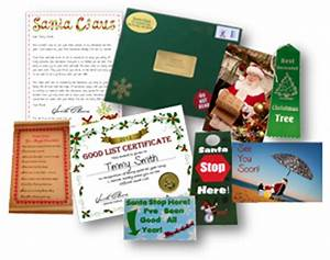 reindeer package With best santa letter packages