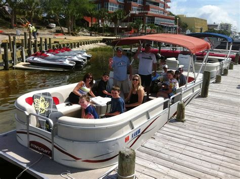 Pontoon Boat Destin Fl by Pontoon Boat Rental In Destin Fl Destin Fl Pontoon