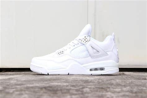 Nike Air Jordan 4 Retro Pure Money White 308497 100 Seplook