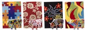 tappeti moderni firenze tappeti cow parade anche in italia quelli delle mucche da