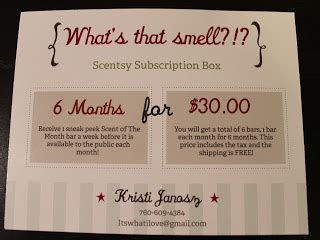 itswhatiloves channel scentsy sunday week
