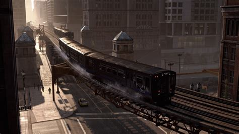 wallpaper  dogs game action adventure train city rails screenshot   pc