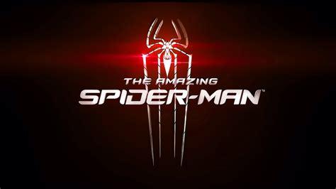 amazing spider man red logo desktop pc