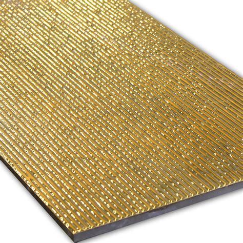 ceramic wood tiles wall decor tiles gold ribbed 30x60cm mosafil co uk