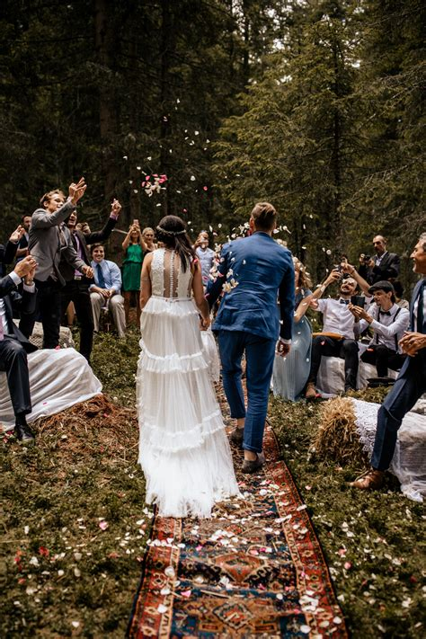 forest wedding free ceremony deep in the woods wedding
