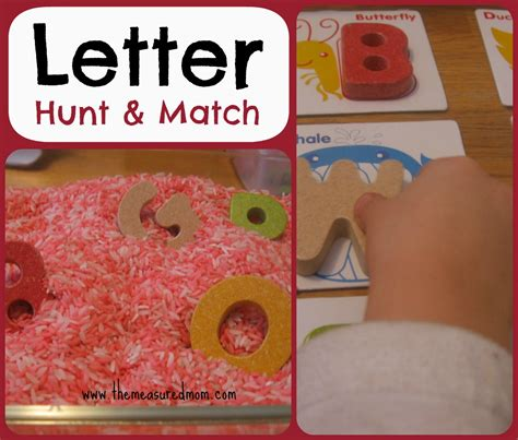letter hunt amp match a whole alphabet activity for 761 | Letter Hunt Match for toddlers preschoolers alphabet2