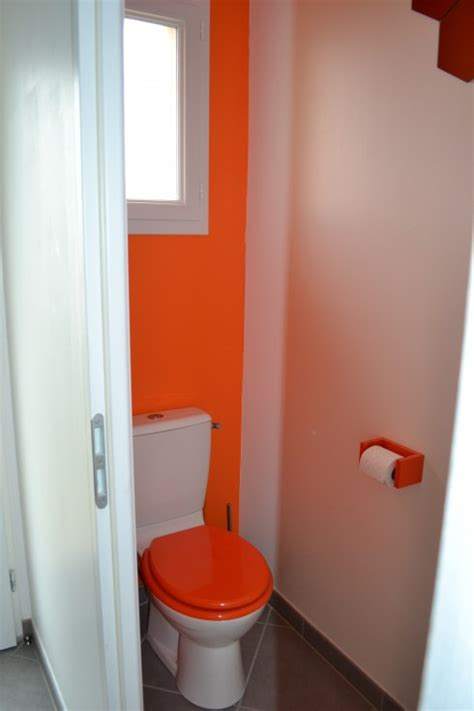 corbeille bureau toilettes orange photo 1 6 3513526